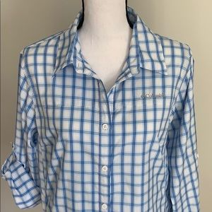 {Columbia} Omni-Tech Button-up Collared Shirt